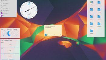 kubuntu plasma widgets