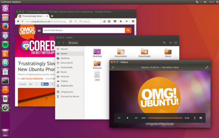 ubuntu 16.04 lts desktop screenshot