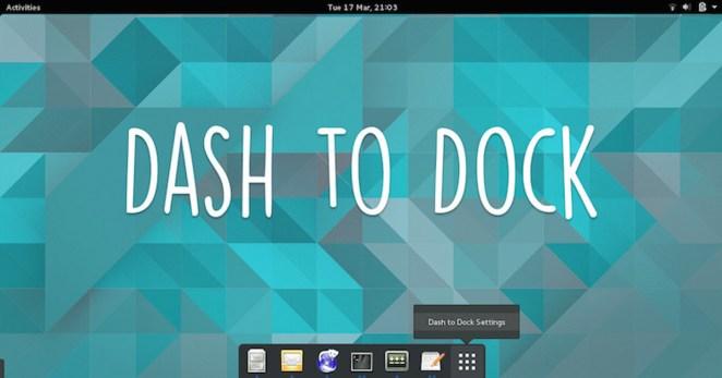 Resultado de imagem para Dash to Dock