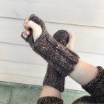 Free Pattern: Knit These Gorgeous Fingerless Mitts to Match OMG Yarn's Groundhog Hat