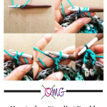 Quick Crochet Tutorial: How to do a Standing Double Crochet