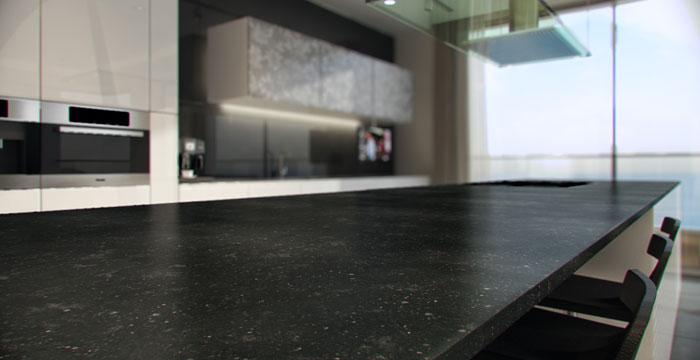 Belgian Moon  4100  Omicron Granite  Tile