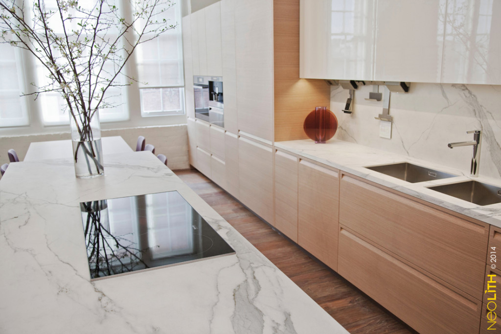 Neolith  Finished Work  Omicron Granite  Tile