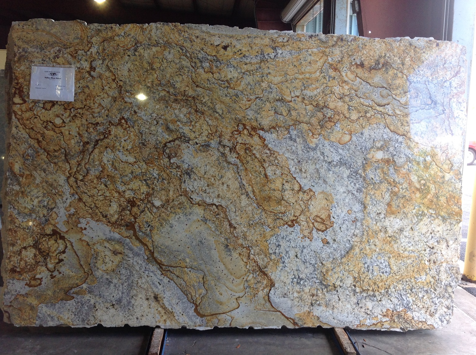 Yellow River Extra  Omicron Granite  Tile