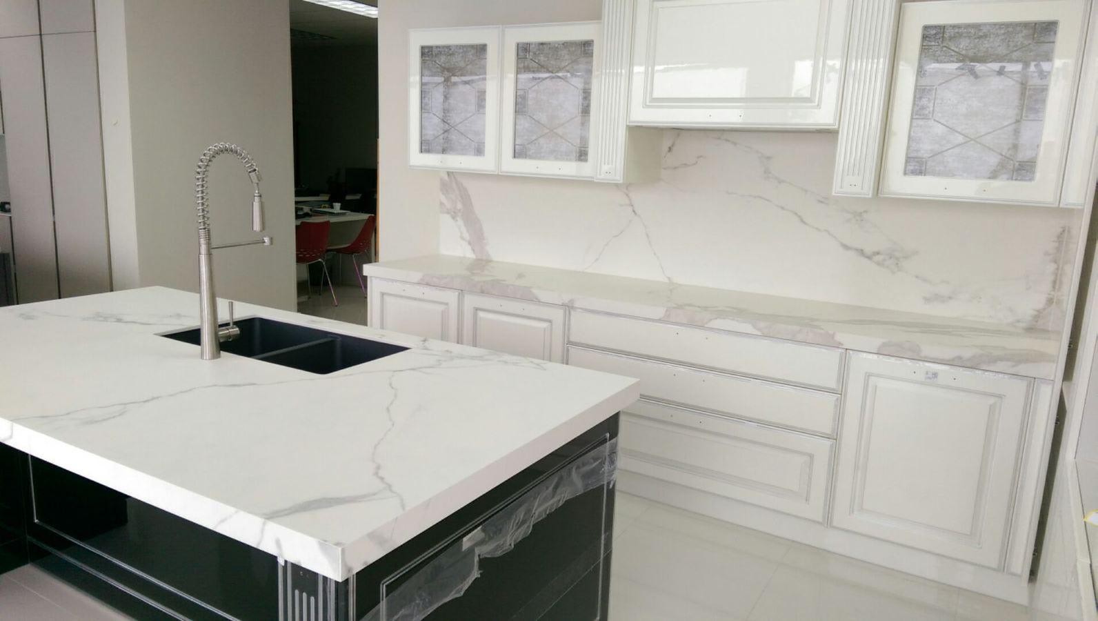 kitchen cabinets columbus appliance ratings estatuario - omicron granite & tile