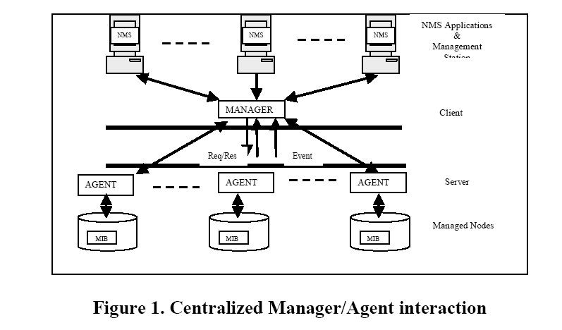 Role of Agents in Distributed Network Management: A Review
