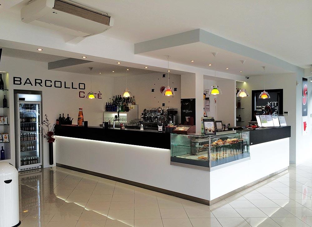 Arredamento bar moderno Banconi bar  OMIF Siena
