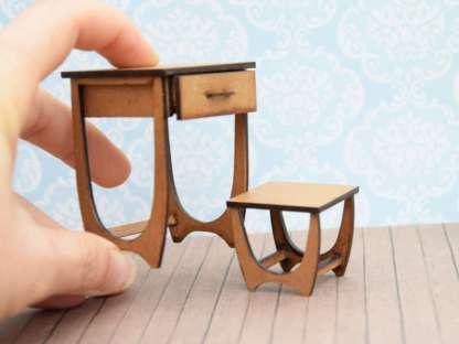 midcentury writing desk