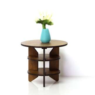 miniature art deco side table