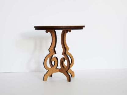 dollhouse table