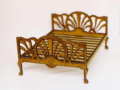 miniature art deco bed