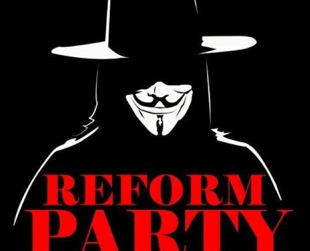 Reform Party poster