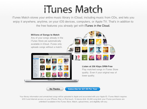 iTunes Match Review: Apple's Cloud Music Service Now Available in