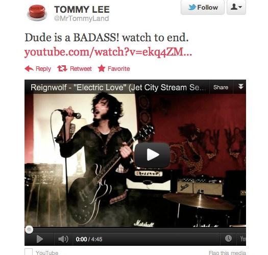Tommy Lee Twitter