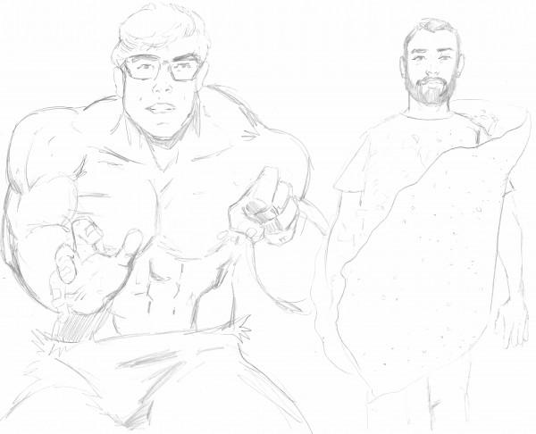 Saskatoon Blitz!: Taco Man & Dana the Hulk