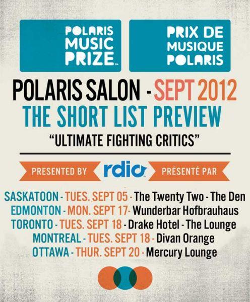 Polaris Prize Salon Panel