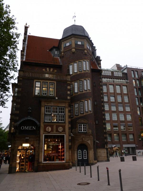 Reeperbahn city centre hamburg