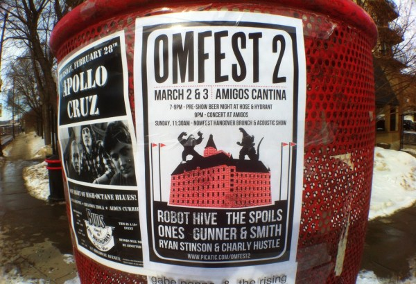 omfest poster