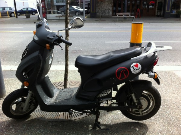 East van scooter