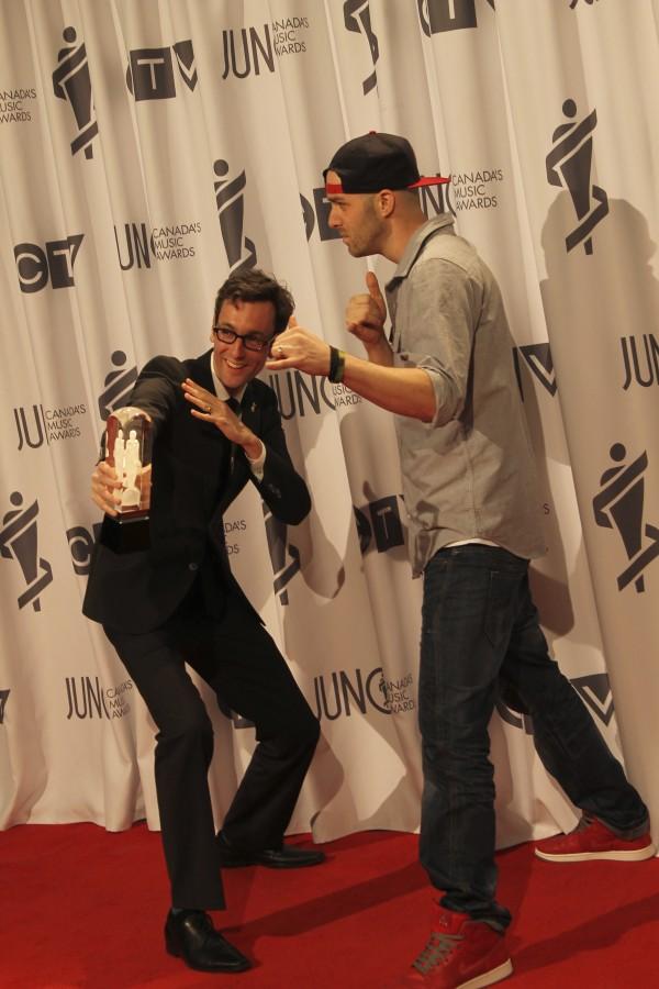 Classified at the Juno Award Gala