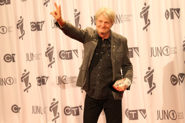 Tom Cochrane at the Juno Award Gala