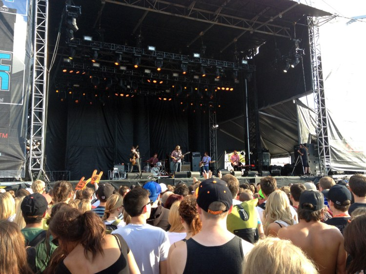 The Weakerthans at Sonic Boom Festival