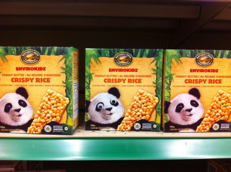 googly panda