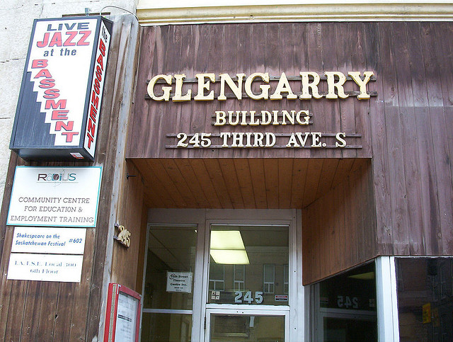the bassement glengarry