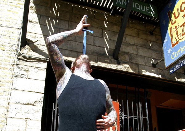 sxsw pictures sword swallower
