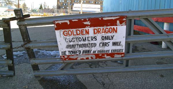 golden dragon parking