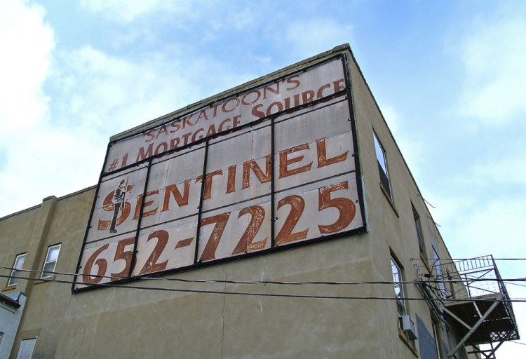 sentinel ghost sign