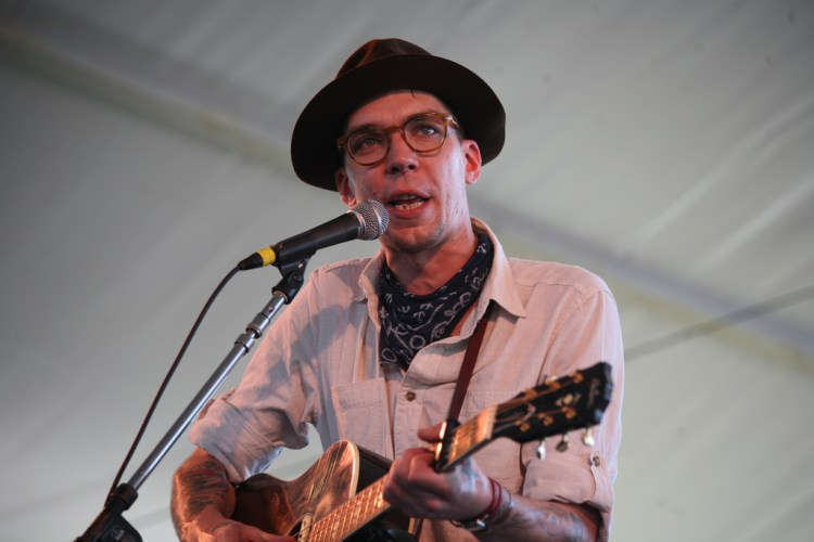 """- Justin Townes Earle photo from Flickr user """"WFUV"""" – Creative Commons."""
