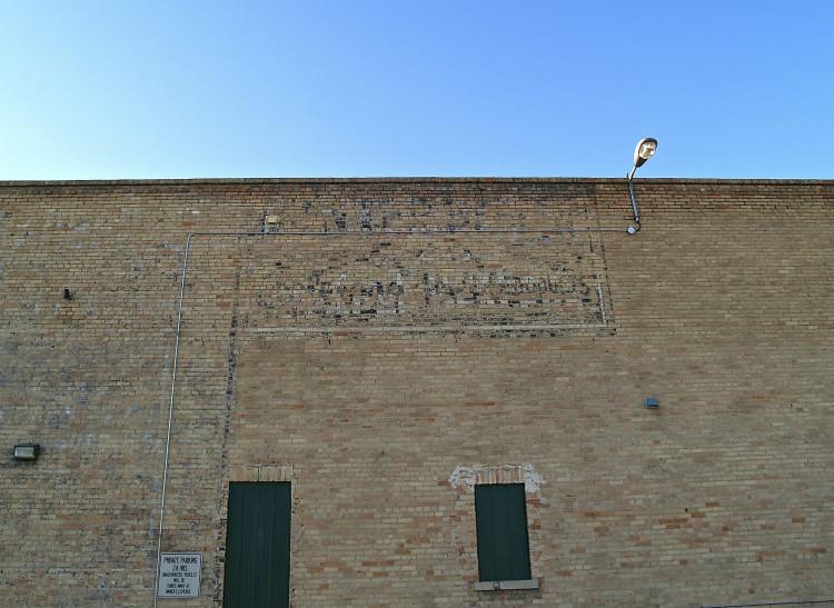 Regina ghost sign