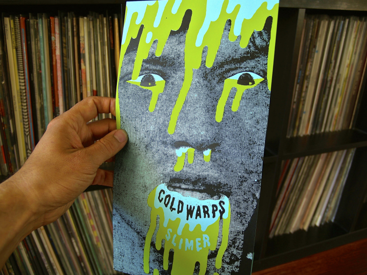 Cold Warps - Slimer 7""
