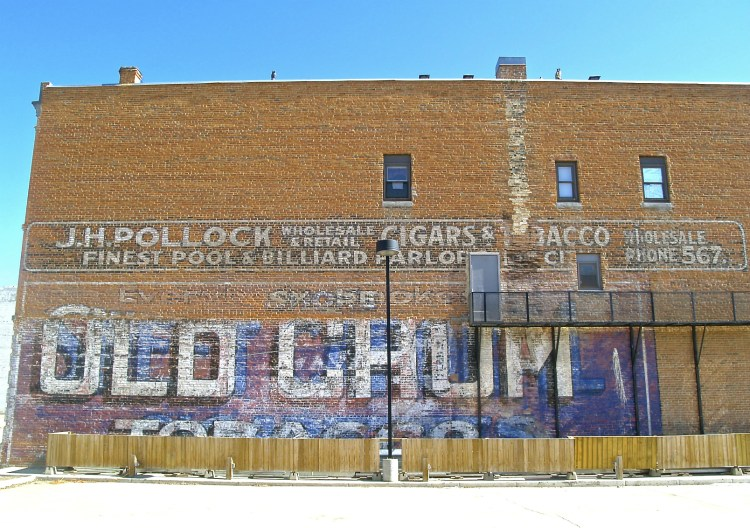 prince albert ghost sign 5