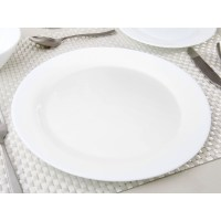 Dinner Plate 9.5 Inch Round Break And Chip Resistant