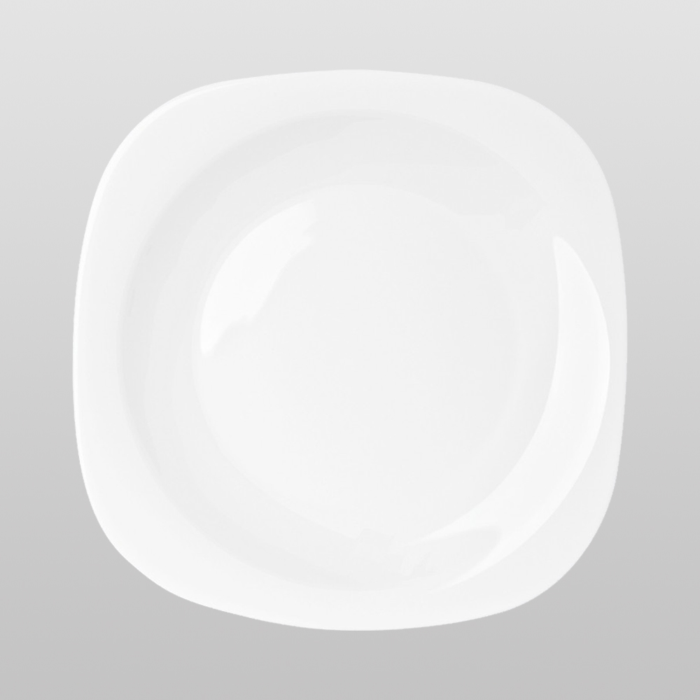 Dinner Plates 10 Inch Square Break And Chip Resistant