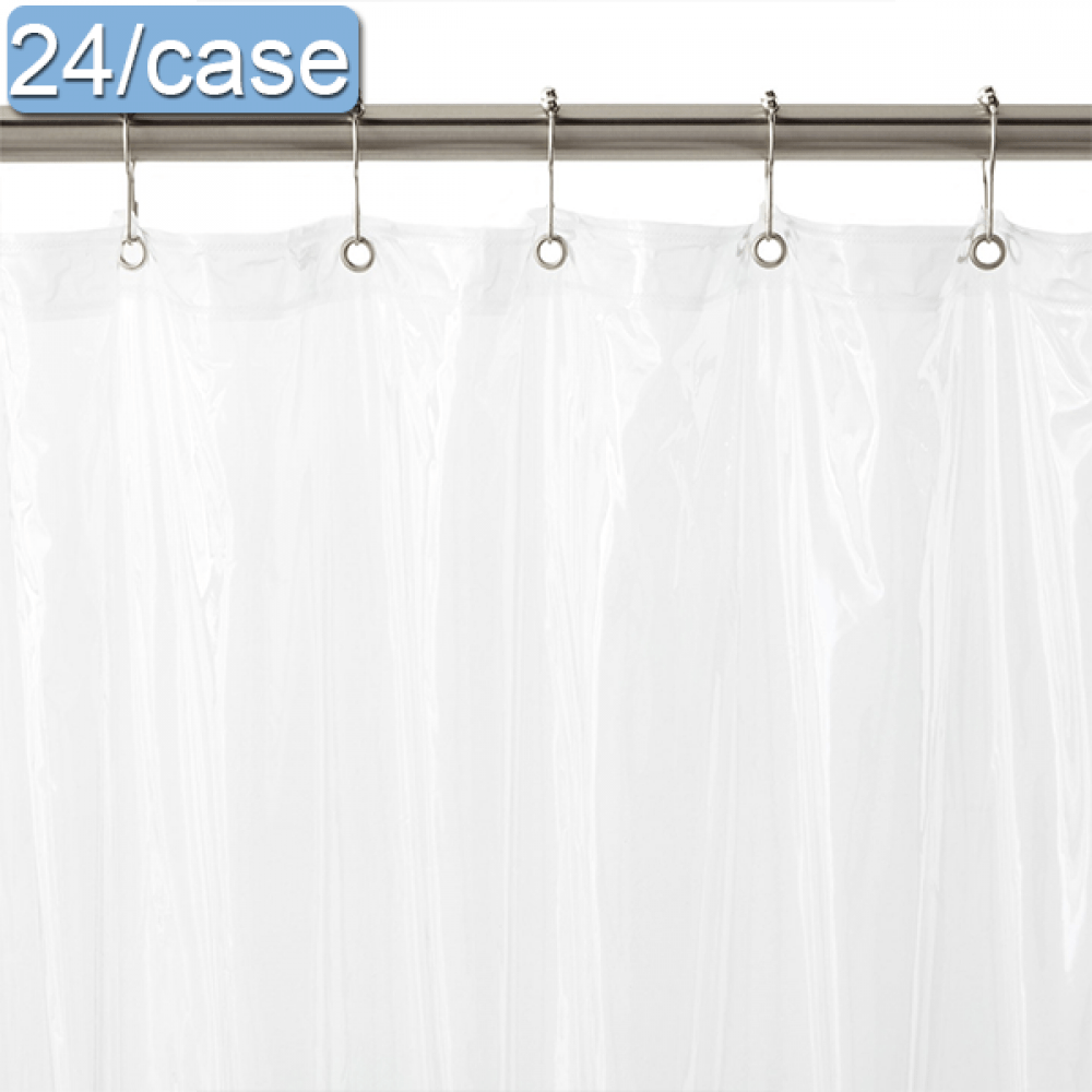 vinyl shower curtain with rust proof