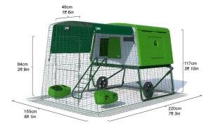 New Eglu Cube Chicken Coop | Chicken Coops and Pet Chicken Accessories | Omlet