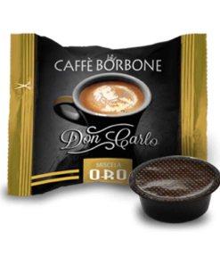 100 Capsule Don Carlo Caffè Borbone Oro compatibili A Modo Mio