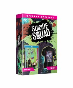 Blu-Ray Suicide Squad + T-SHIRT DC COMICS
