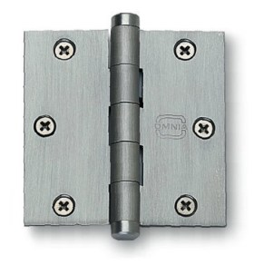 Item No.985/35 (Plain Bearing, Full Mortise Hinge - Solid Extruded Brass)
