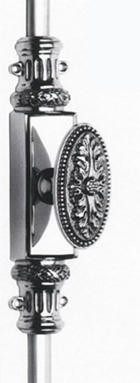 Item No.2057CR (Knob Cremone Bolt Set - Solid Brass )