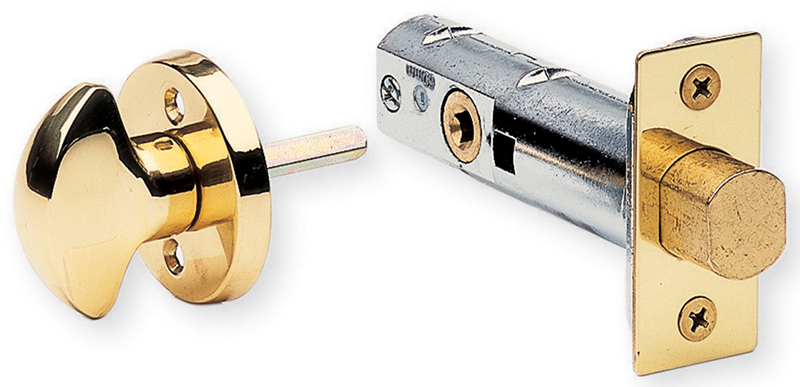 Item No.103 (Mortise Privacy Bolt - Solid Brass)