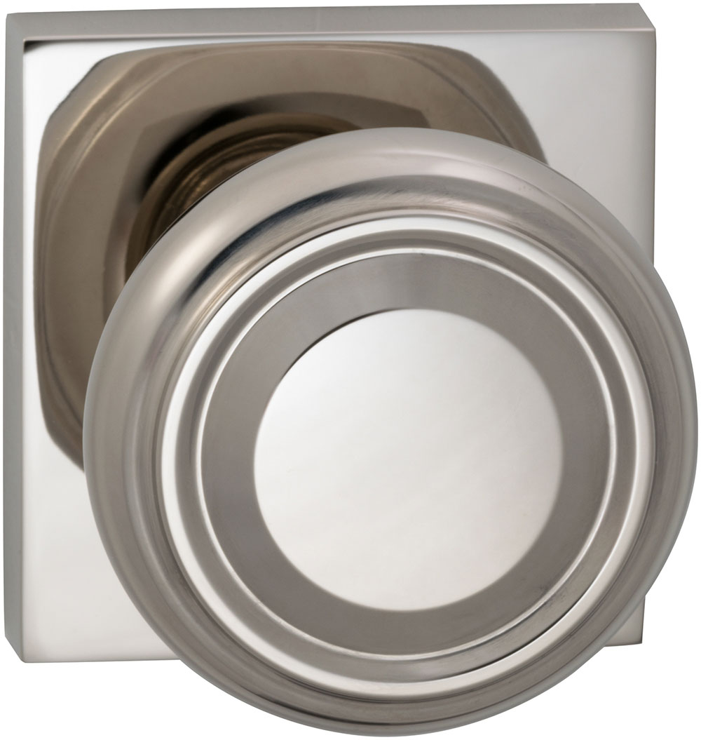 Item No.565SQ (US14 Polished Nickel Plated, Lacquered)