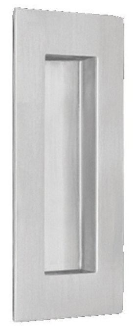 Item No.7506 (Modern Rectangular Flush Pull - Solid Stainless Steel)