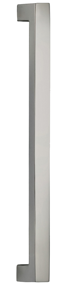 Item No.9025/153 (Modern Cabinet Pull - Solid Brass) in finish US14 (Polished Nickel Plated, Lacquered)
