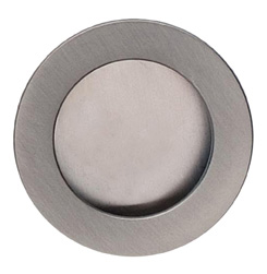 Item No.9595/60 (Modern Cup Pull - Solid Brass) in finish US15 (Satin Nickel Plated, Lacquered)