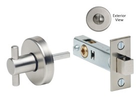 Item No.6000 (Modern Privacy Bolt Set - Stainless Steel)