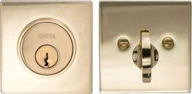 Item No.SQRDB (US3 Polished Brass, Lacquered)